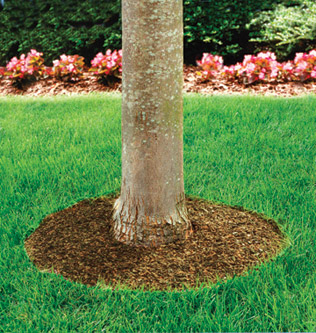 72 Quot Recycled Rubber Mulch Tree Ring Mat Heavy Pattern By