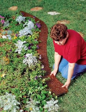 Edge Border Recycled Rubber Mulch Mat By Conserv A Store